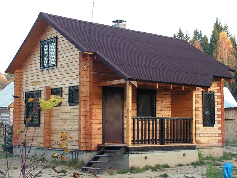 цены на кровельные работы деревянного дома