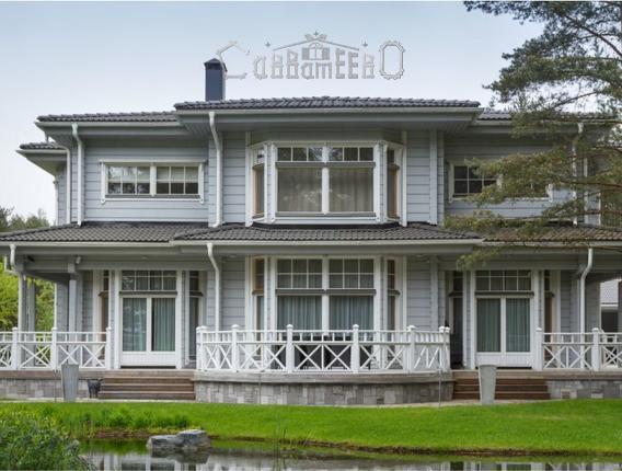 Дом из бруса с мансардой Б-220